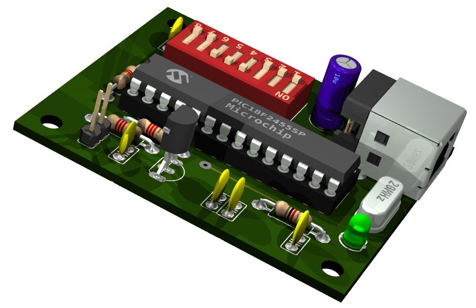Model rc as usb joystick